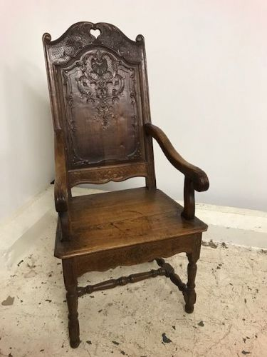 Impressive Early French Armchair - ha83